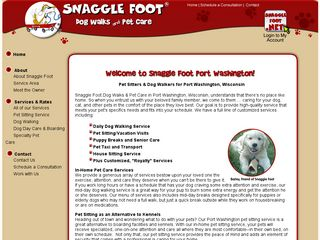 Snaggle Foot Dog Walks & Pet Care Port Washington