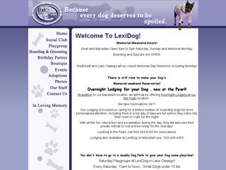 LexiDog Boutique & Social Club | Boarding