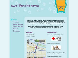 Woof Tastic Pet Sitting | Boarding