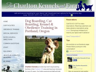 Charlton Kennels & Farm | Boarding