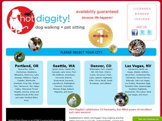 Hot Diggity! Dog Walking + Pet Sitting | Boarding
