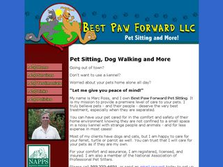 Best Paw Forward Pet Sitting LLC | Boarding