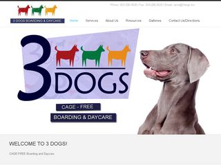 3 Dogs Boarding and Daycare Portland