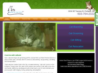 Cats in the City LLC | Boarding