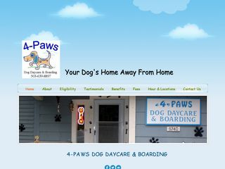 4 Paws Dog Day Care Boarding | Boarding