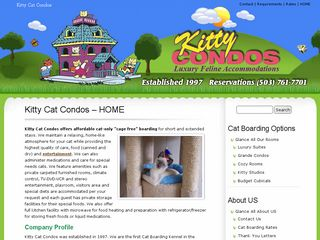 Kitty Cat Condos | Boarding