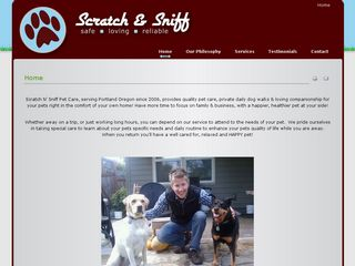 Scratch N Sniff Pet Care | Boarding