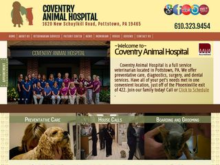 Coventry Animal Hospital | Boarding