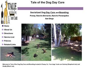 Tale of the Dog Day Care Poway