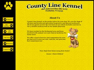 County Line Kennel | Boarding