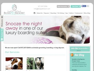Bliss Pet Resort and Spa | Boarding