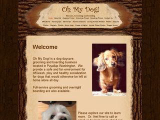 OH My Dog! Incorporated | Boarding