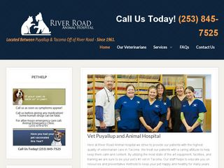River Road Animal Hospital Puyallup
