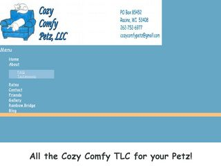 Photo of Cozy Comfy Petz LLC in Racine