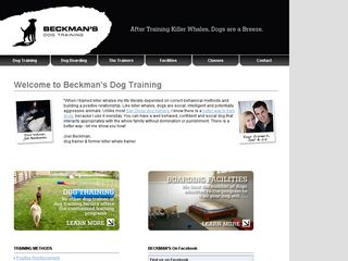 Beckmans Dog Training | Boarding