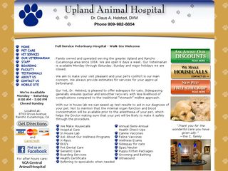 Upland Animal Hospital Rancho Cucamonga