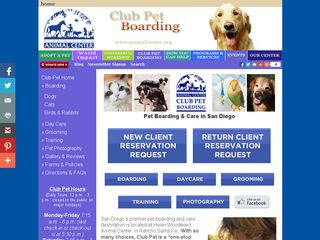 Club Pet Boarding Rancho Santa Fe