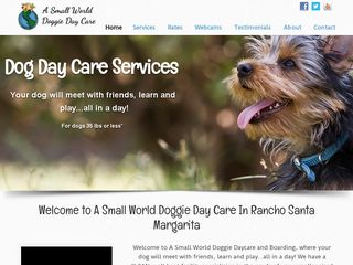 A Small World Dog Day Care Rancho Santa Mar