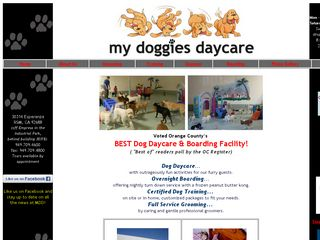 My Doggies Daycare Rancho Santa Margarita