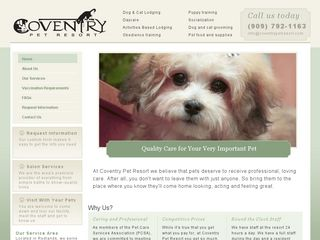 Coventry Pet Resort | Boarding