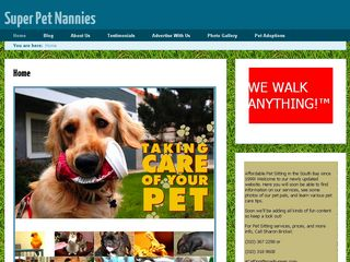 Super Pet Nannies | Boarding