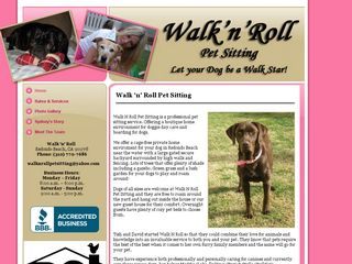 Walk N Roll Pet Sitting | Boarding