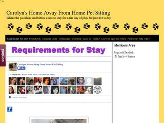 Carolyns Home Away From Home Pet Sitting and Grooming | Boarding