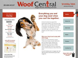 Woof Central | Boarding