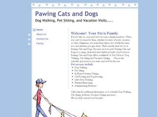 Pawing Cats   Dogs | Boarding