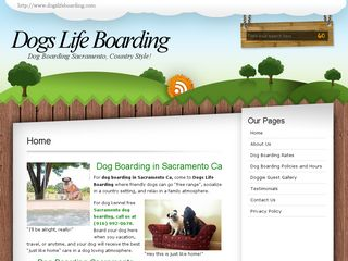 Dogs life Boarding at Pug Ranch | Boarding