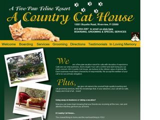 A Country Cat House Riverview