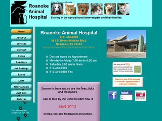 Roanoke Animal Hospital Roanoke
