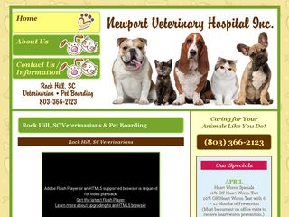 Newport Veterinary Hospital Rock Hill