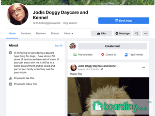 Jodis Doggy Daycare | Boarding