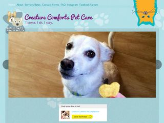 Creature Comforts Pet Care | Boarding