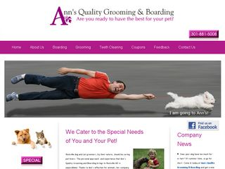 Anns Quality Grooming | Boarding