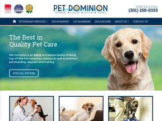 Pet Dominion | Boarding
