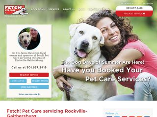Fetch! Pet Care Rockville Rockville