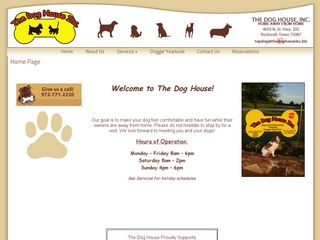 The Dog House | Boarding