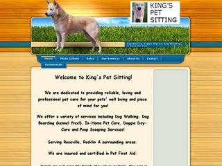 Kings Pet Sitting Roseville