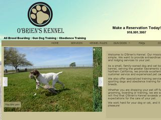 O'Brien's Kennel | Boarding