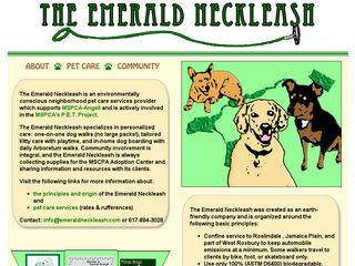 The Emerald Neckleash | Boarding