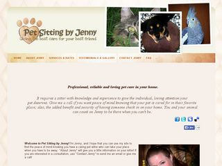 Pet Sitting by Jenny | Boarding