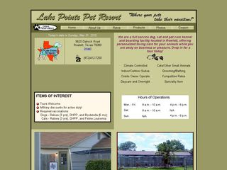 Lake Pointe Pet Resort Rowlett