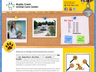 Muddy Creek Animal Care Center Rowley