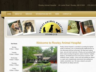 Rowley Animal Hospital | Boarding