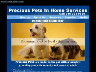 Precious Pets In Home Services Sacramento