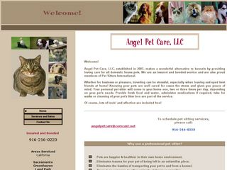 Angel Pet Care Sacramento