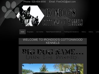 Irondogs Cottonwood Kennels Sahuarita