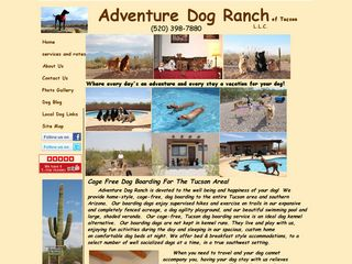 Tucson Adventure Dog Ranch | Boarding